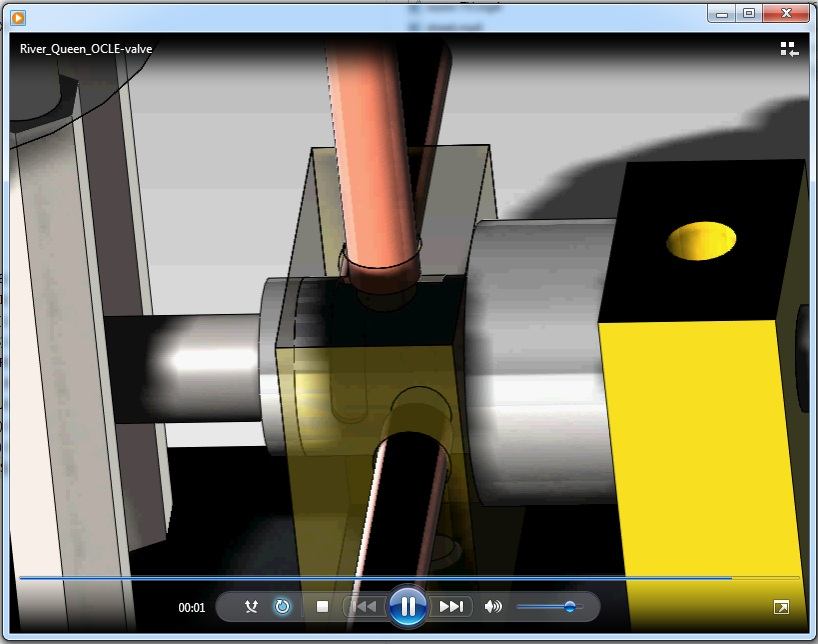OCLE engine valve video